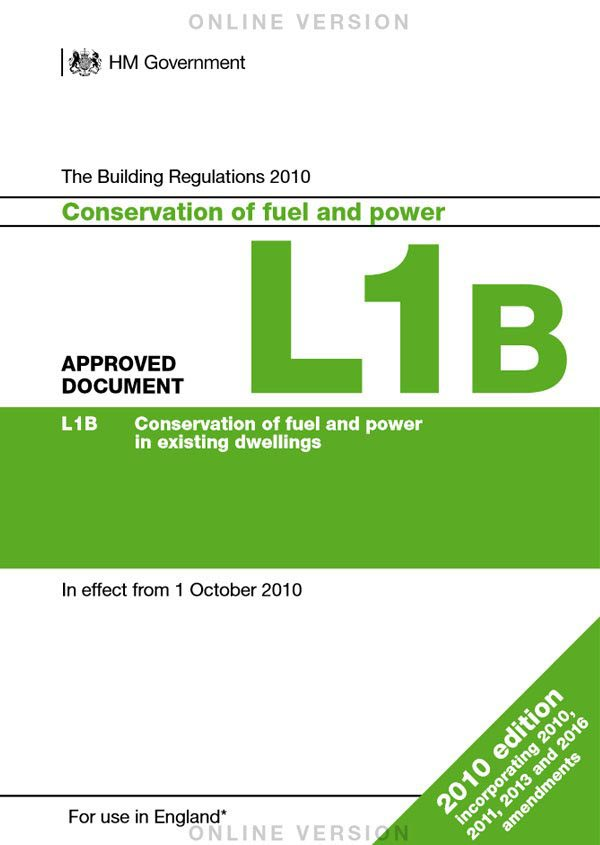 Approved Document L1B