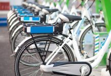 Reduce air pollution electric bikes for hire