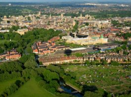Cambridge-Oxford growth corridor from the air