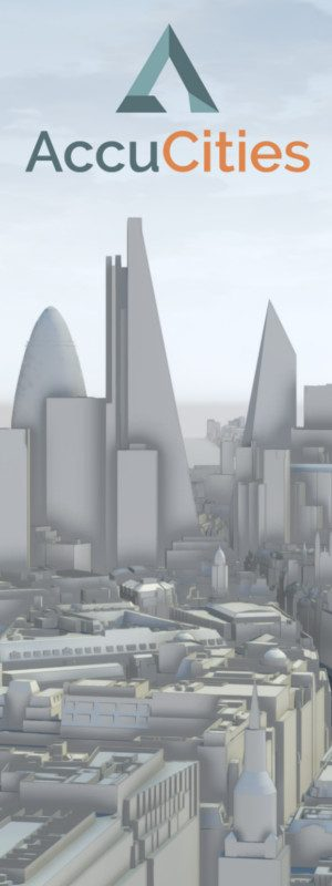 AccuCities 3D London