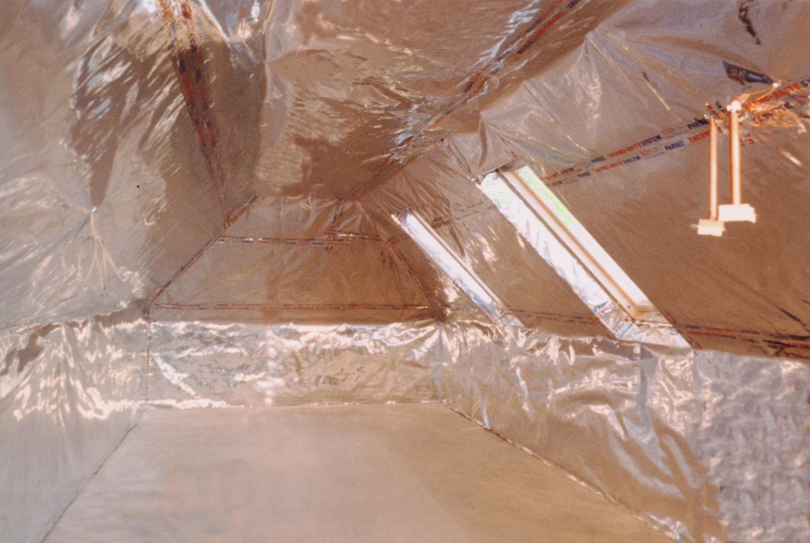 ThermoFoil Attic room