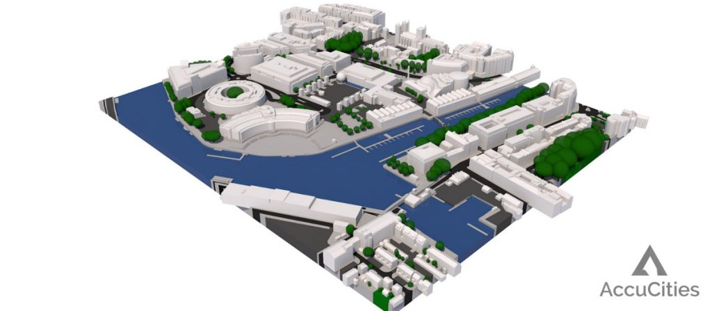 AccuCities 3D Bristol Model