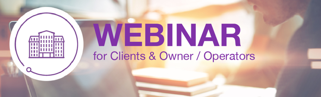 Webinar for clients and Owner/Operators
