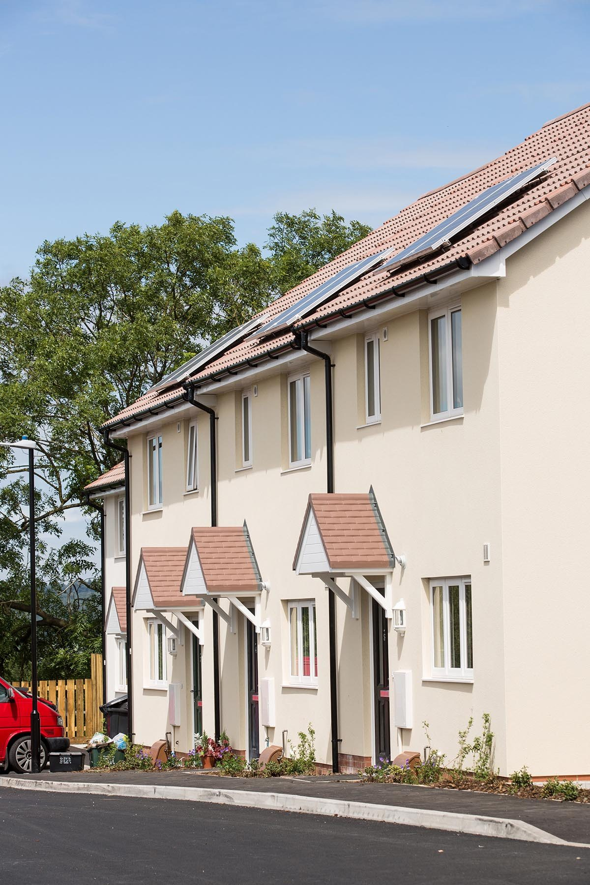 Knowle wasteland turned into affordable homes