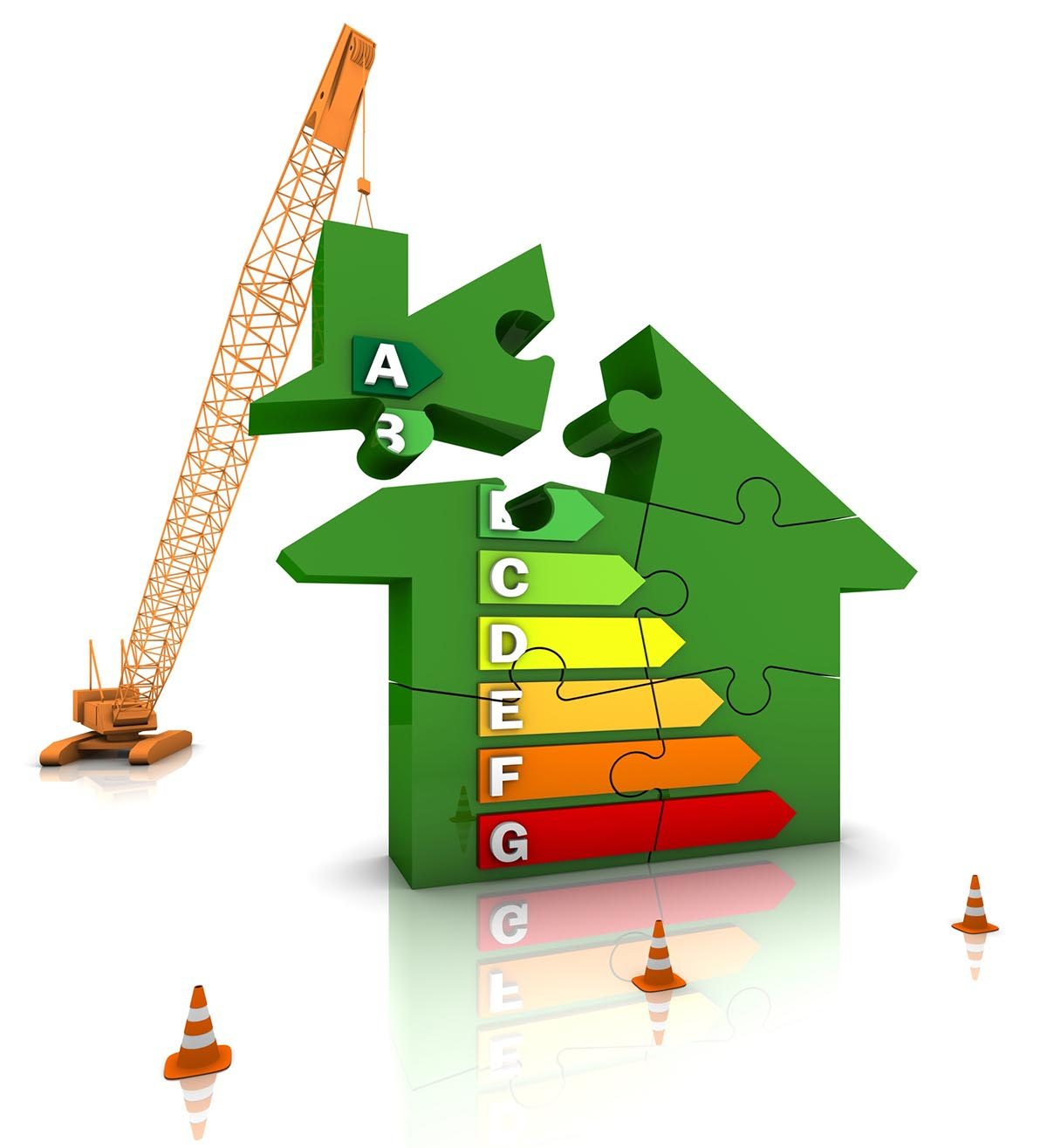 Energy management in construction