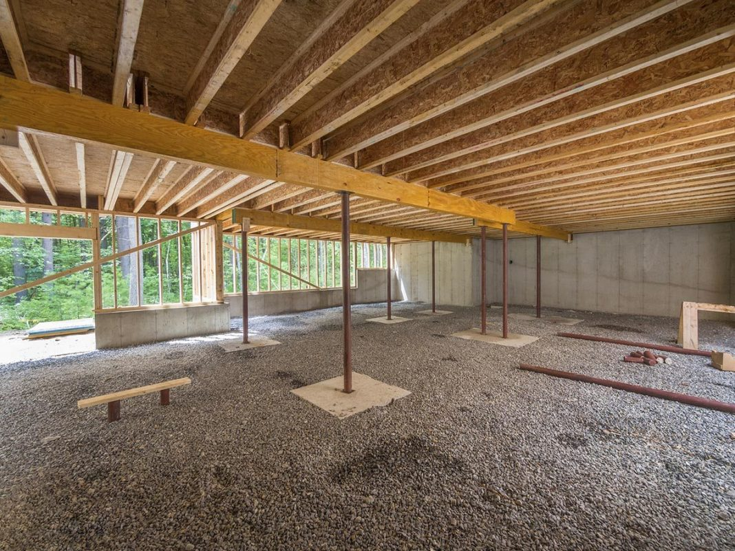 Overcoming basement construction problems