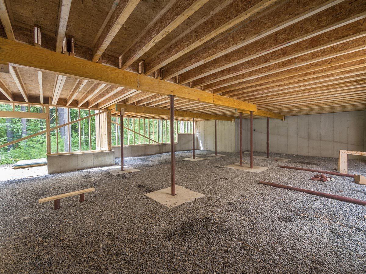 Overcoming basement construction problems planning for Basement construction