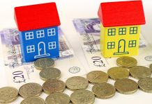 Annual house price growth falls to a two-year low