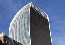 "The iconic ""Walkie Talkie"" building has been recognised as one of the London's most sustainable buildings"
