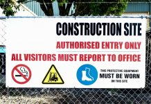 Insecure site leads to construction firm receiving fine