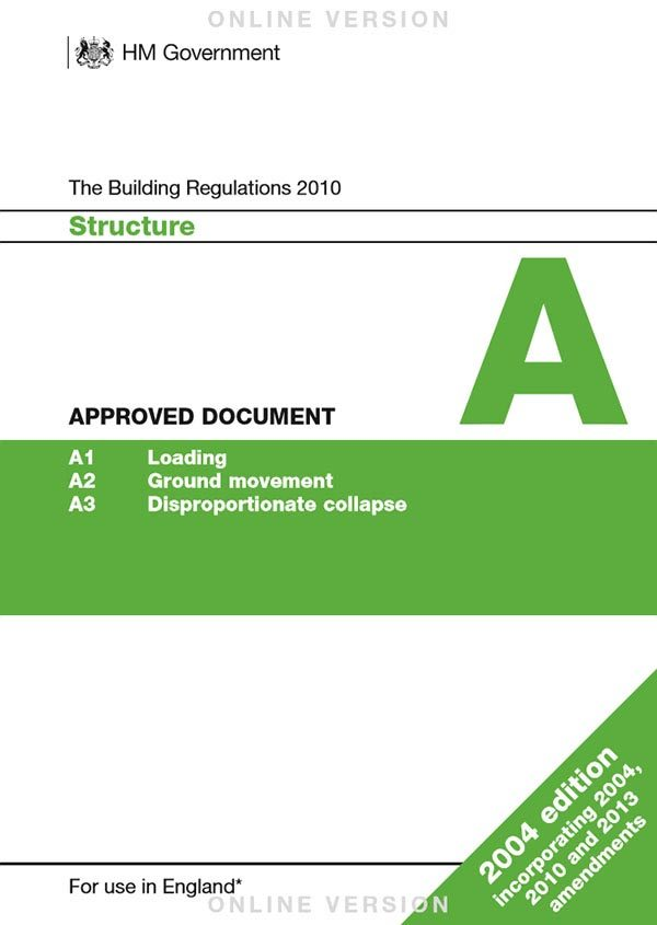 Approved Document A