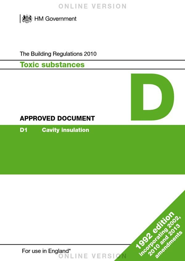 Approved Document D