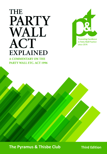 the party wall act explained an update of the guidebook