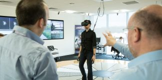 Using virtual reality to design buildings and transport hubs