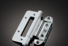 Incorporating security features in the design of hinges