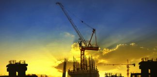 UK construction output falls in March for the third consecutive month