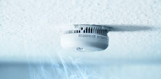 fire safety using smoke detectors