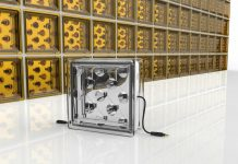 Innovative glass blocks -Solar Squared
