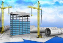 BIM 3D building model