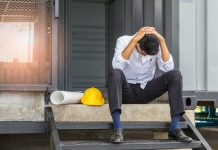 mental illness in construction