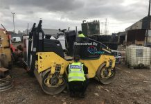 stolen plant equipment
