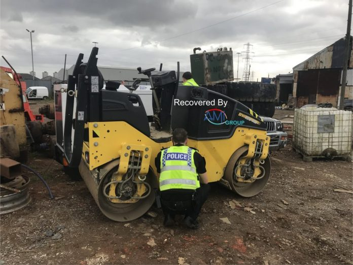 Ami Tracking Device Leads Police To Stolen Plant Equipment