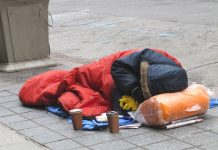 rise in homelessness