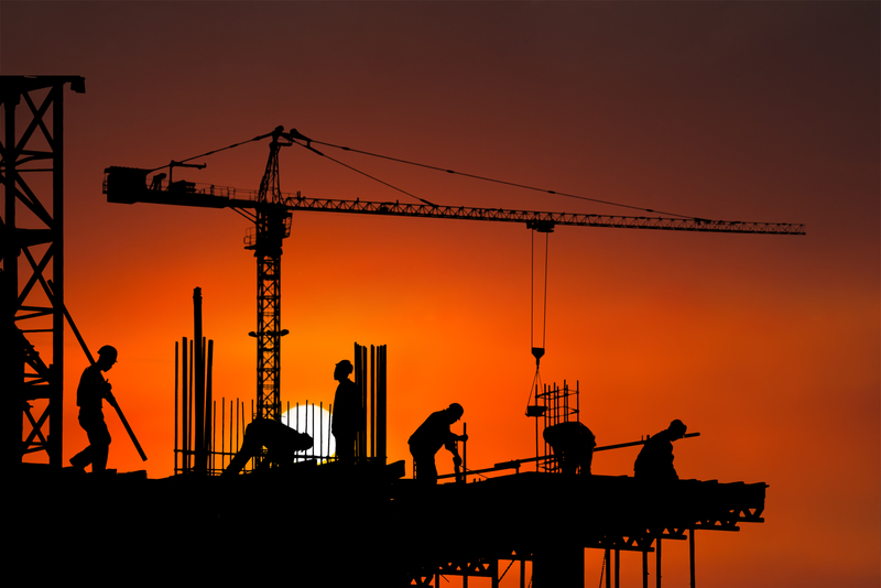 Construction output growth eases slightly in December