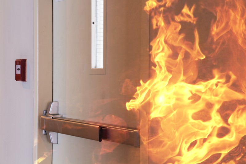Fire Door Failure : 'no change needed to safety advice following failure of