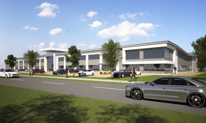 Mick George Ltd will commence earthworks to be started at the new AMK Automotive offices