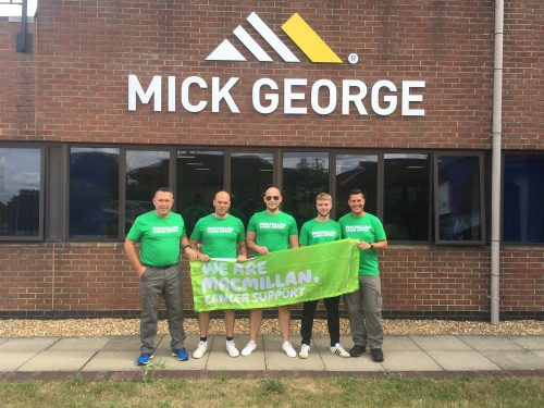 Mick George charity work
