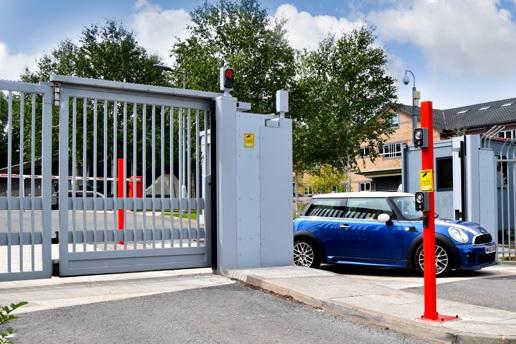 high security entrance control