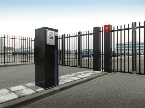 sGate trackless bi-fold gate