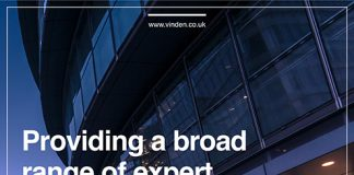 Providing a broad range of expert property services Vinden Partnership