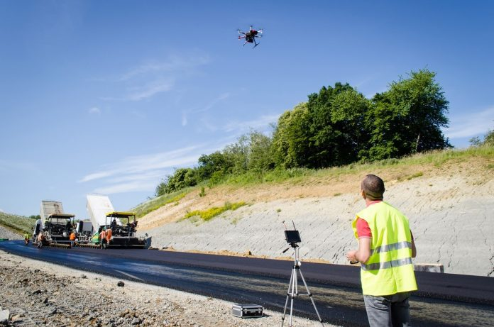 Drone technology, construction industry