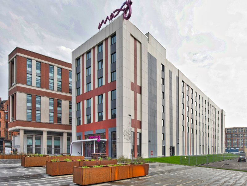 Offsite construction accelerates new Glasgow Hotel