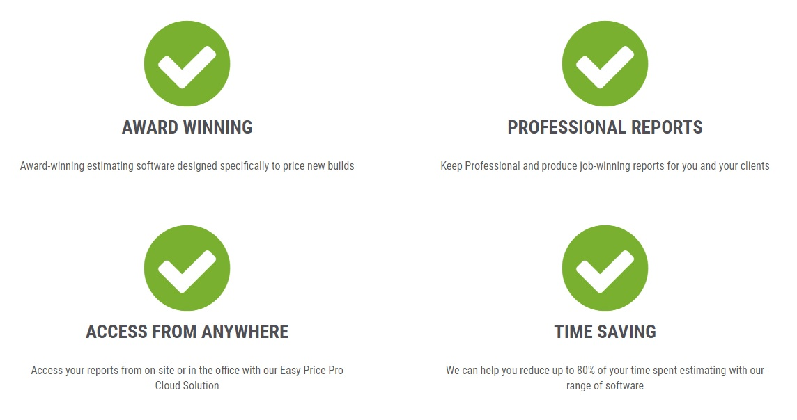 Easy Price Pro - the benefits of our estimating software