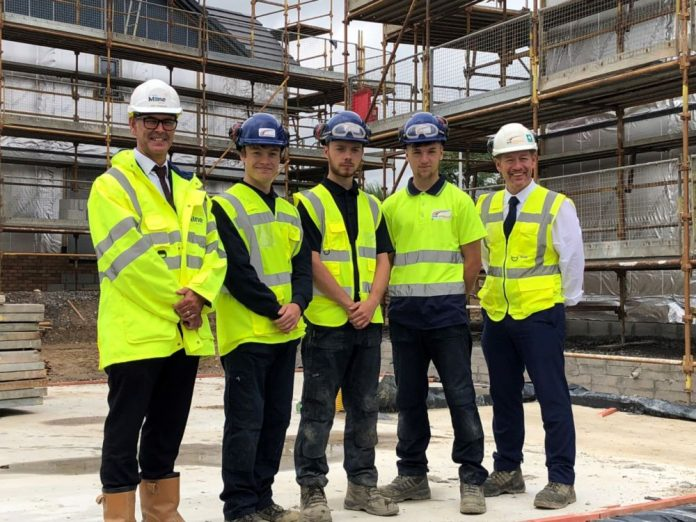 'Green Vest' scheme, young people into construction,