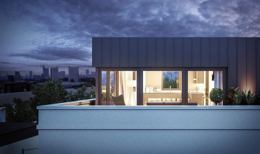 modular homes, London rooftops