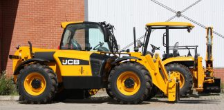 construction equipment, telehandler machines, JCB, Nixon Hire,