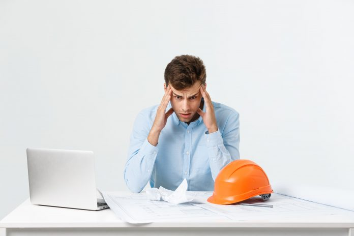 Stress and mental health, construction,