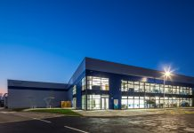 Braintree Logistics Centre, housebuilding factory,
