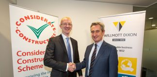 supply chain partners, Considerate Constructors Scheme, Willmott Dixon,