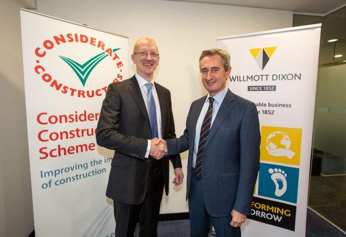 supply chain partners, Considerate Constructors Scheme, Willmott Dixon,