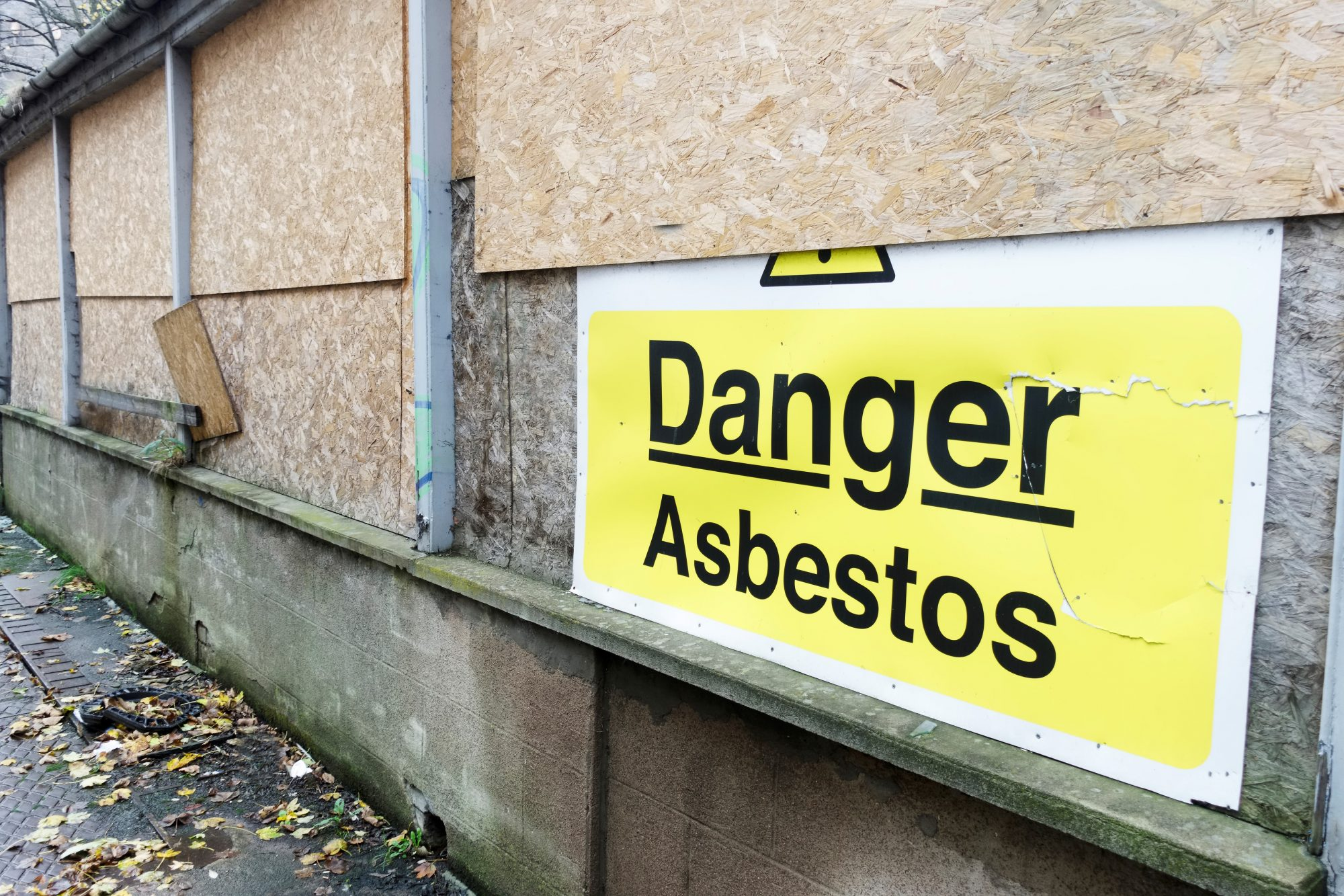 Construction company fine after safety failings in asbestos