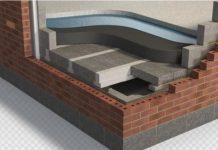Reinforced concrete, Waterproofing, basements,