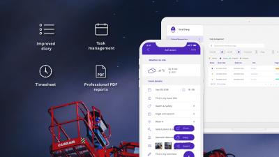 Site Diary app - Script & Go
