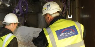 Dawnus, Construction company, administration,