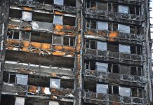 Grenfell Tower fire, PI policy,