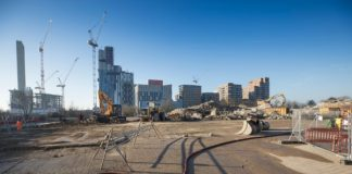 demolition, Old Oak Common, HS2,